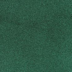 American Crafts Cardstock Glitter Medium 12 x 12 Evergreen Green