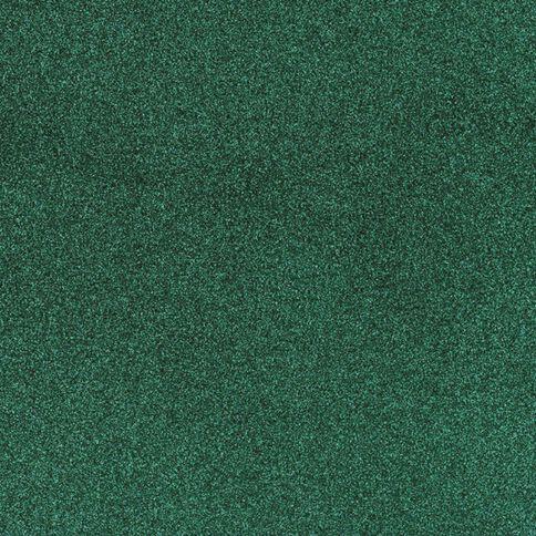 American Crafts Cardstock Glitter Medium 12 x 12 Evergreen Green