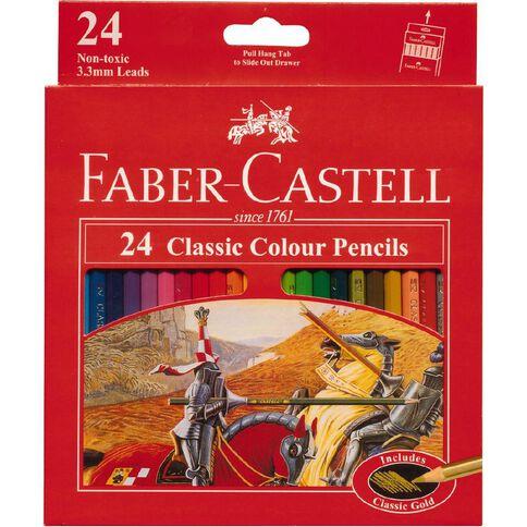 Faber-Castell Classic Colour Pencils 24 Pack