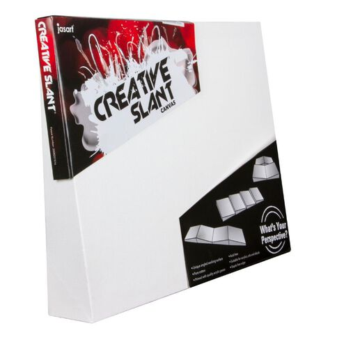 Jasart Creative Slant Canvas 8 x 10