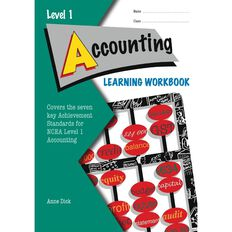 Ncea Year 11 Accounting Learning Workbook