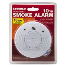 CodeRED 10 Year Photoelectric Smoke Alarm 1 Pack
