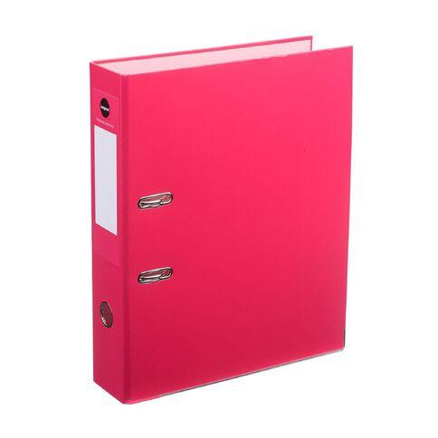 WS Foolscap Lever-Arch Pink