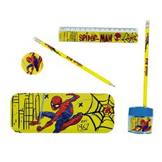 Spider-Man Tin Stationery Set 6 Pieces