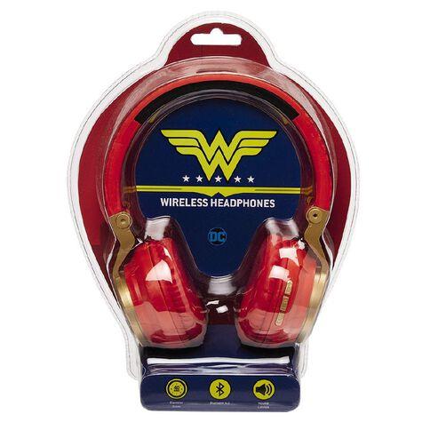 DC Wireless Headphones Wonder Woman