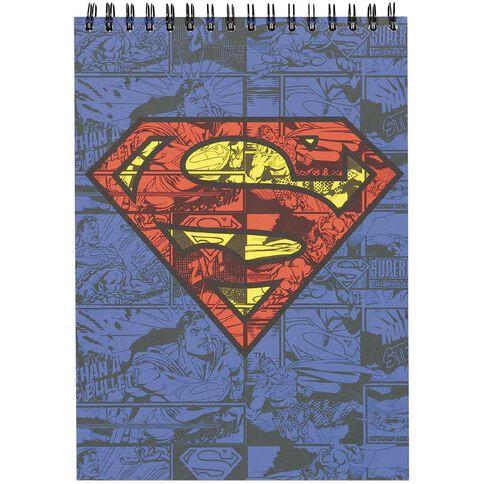Superman DC Comics Sketch Pad A4