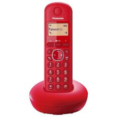 Panasonic Kx-Tgb210Nzr Cordless Phone Red