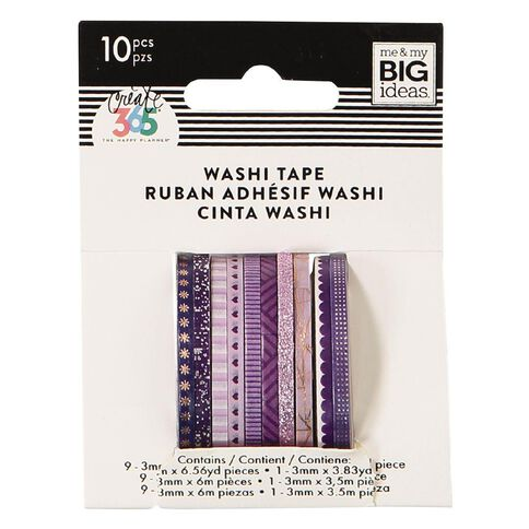 Me & My Big Ideas Washi Tape Mini Purle