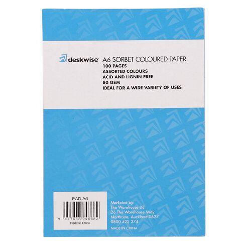 Deskwise Paper Pad Sorbet A6