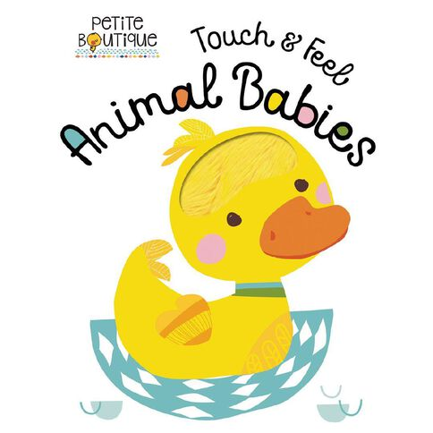 Petite Boutique Touch and Feel Baby Animals