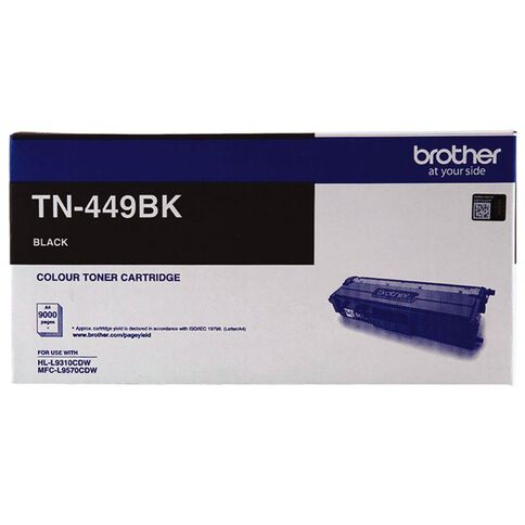 Brother Toner TN449BK Black (9000 Pages)