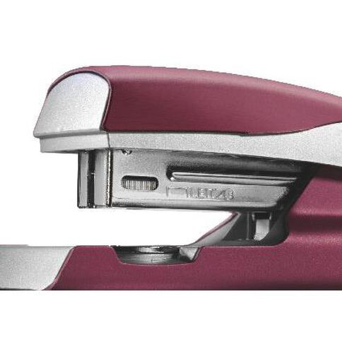 Leitz Metal Half Strip Stapler 30 Sheet Red