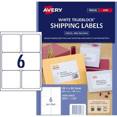 Avery Laser Labels L7166-100 Pack 100 6/Page