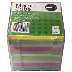 Impact Memo Cube Full Size Complete