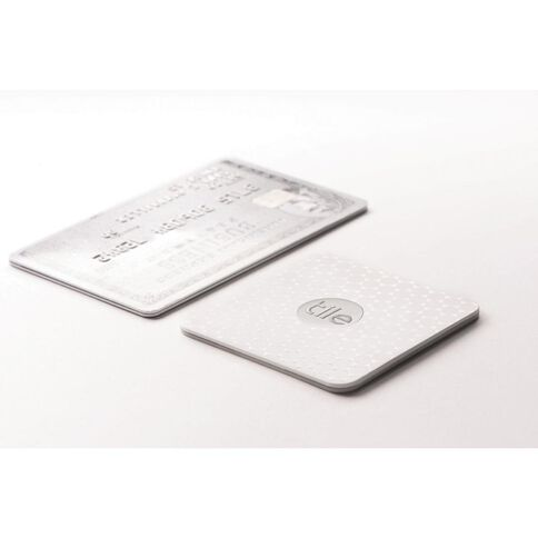 Tile Slim Bluetooth Tracker Single Pack White
