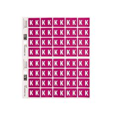 Filecorp Coloured Labels K Purple