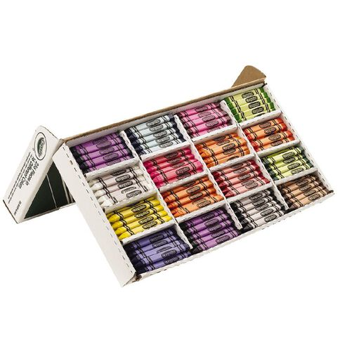 Crayola Triangular Crayons Classpack 256 Pack