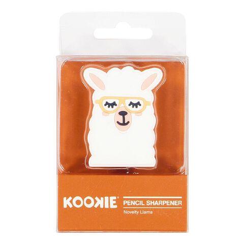 Kookie Novelty19 Llama Pencil Sharpener White