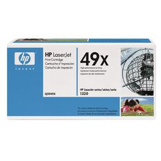 HP Toner 49X Black (6000 Pages)