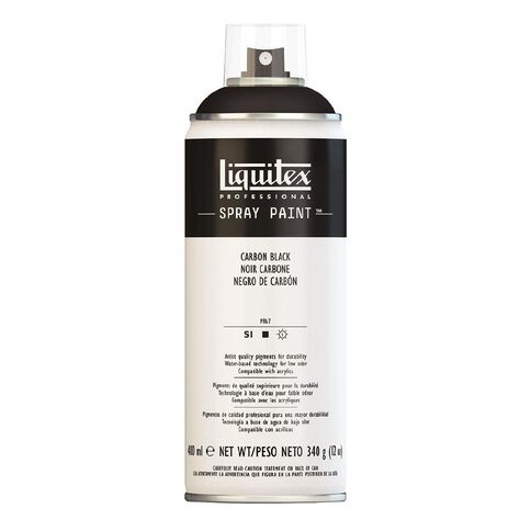 Liquitex Spray 400ml Carbon Black Black