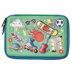 Impact Pencil Case Hard Shell Sports