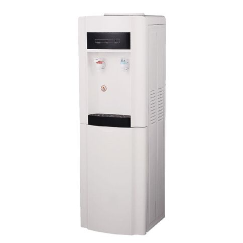 Azure Floor Standing Water Cooler Hot and Cold White