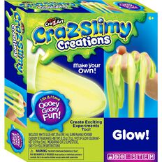 Cra Z Slimy Making Kit Glow