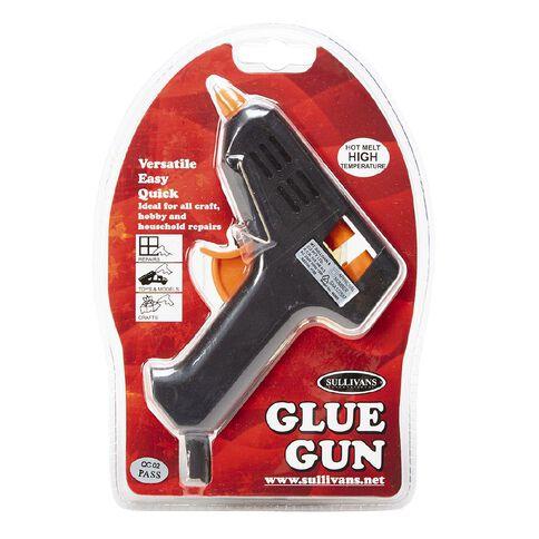 Sullivans Glue Gun 10 Watt Black