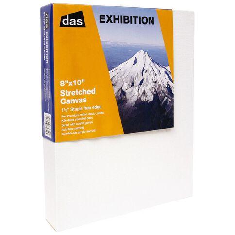 DAS 1.5 Exhibition Canvas 8 x 10in White