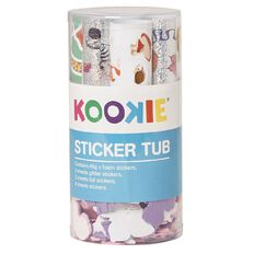 Kookie Sticker Tub