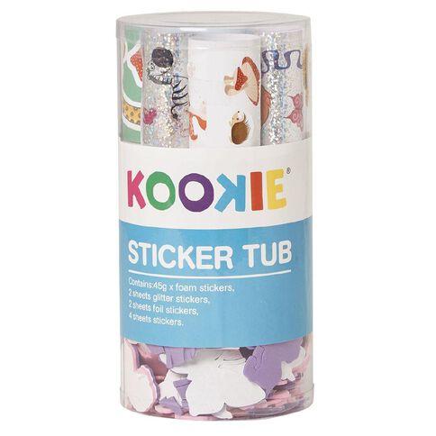 Kookie Sticker Tub