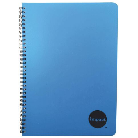 WS Notebook PP Wiro 200 Pages Soft Cover Blue A4