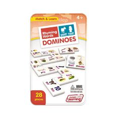 Junior Learning Rhyming Word Dominoes