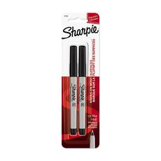 Sharpie Ultrafine Black 2 Pack