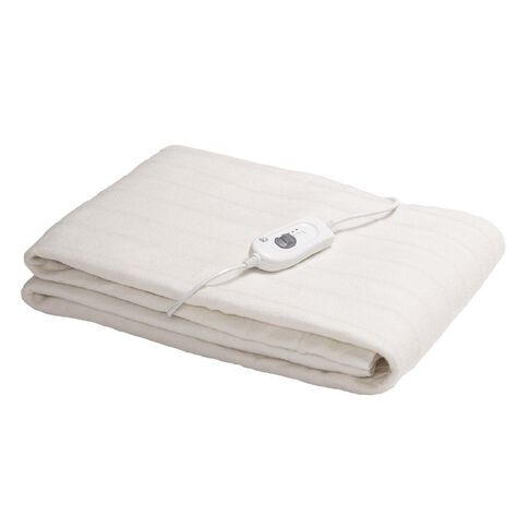 Living & Co Electric Blanket Fitted Large Single 90 x 190 x 50cm