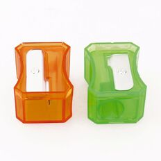 Stationery Essentials Novelty Pencil Sharpeners 2 Pack