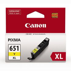 Canon Ink CLI651XL Yellow (750 Pages)