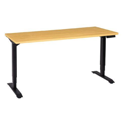 Jasper J Emerge Electric Height Adjustable Desk 1500 Beech/Ironstone