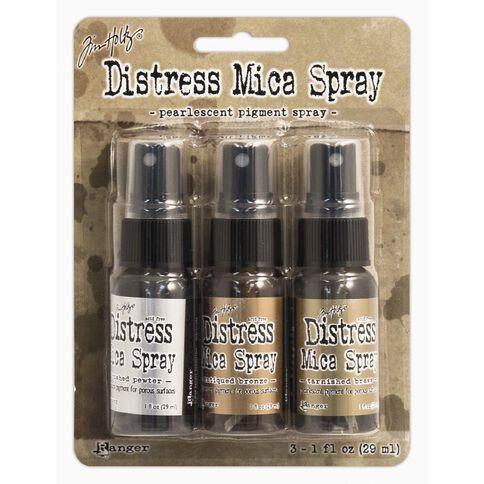 Ranger Tim Holtz Distress Mica Spray 3 Pack
