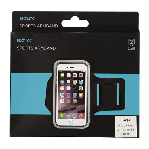 Tech.Inc Sports Armband Up to 5.6 inch Screen Large