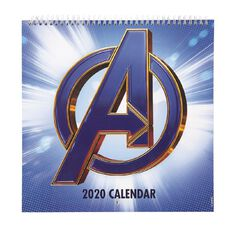 Avengers 2020 Calendar Avengers End Game 305mm x 305mm