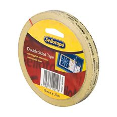 Sellotape Double Sided Tape 12mm x 33m Clear