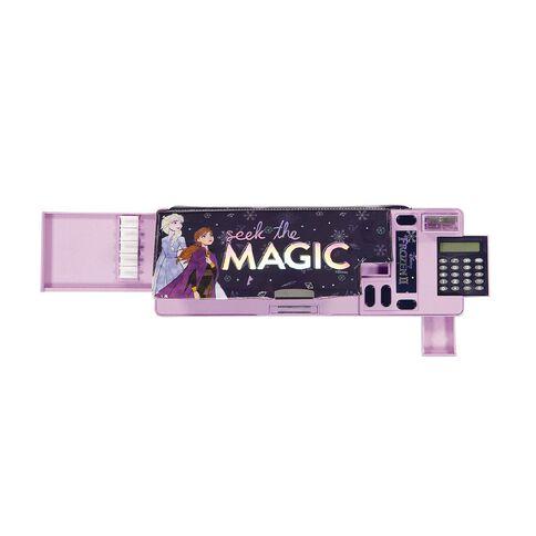 Frozen Disney Popout Pencil Case Purple