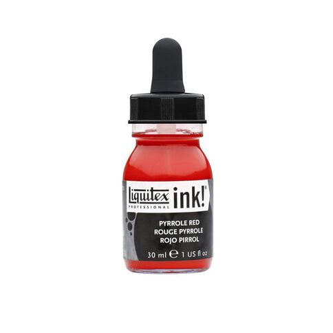 Liquitex Ink 30ml Pyrrole Red Red