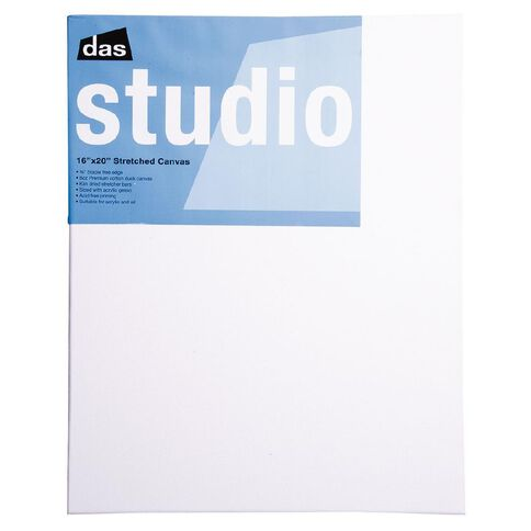 DAS Studio Canvas 16 x 20 White