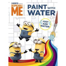 Despicable Me Paint with Water