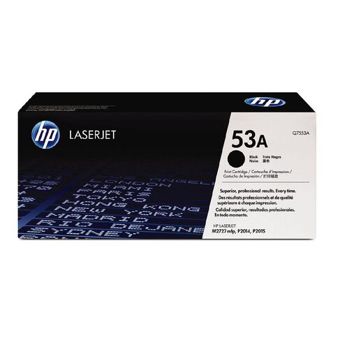 HP Toner 53A Black (3000 Pages)