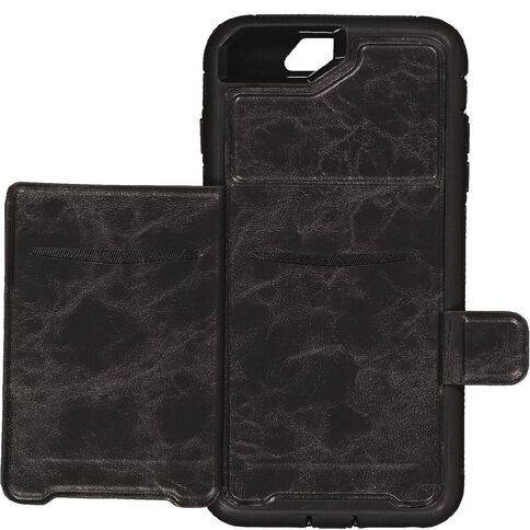 Tech.Inc iPhone 6+/7+/8+ Rugged Wallet Case