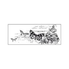 Kaisercraft Clear Stamps 50 x 130mm Texture Botanical