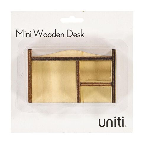 Uniti DIY Wood Mini Desk